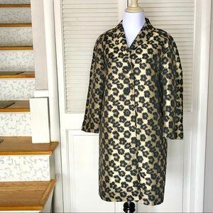 d69ab9731919 Ann Taylor Jackets & Coats - Ann Taylor Floral Leopard Jacquard Topper  Jacket
